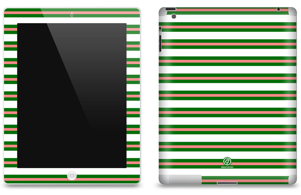 Watermelon Striped <br>Matte Skin - iPad 2 & 3