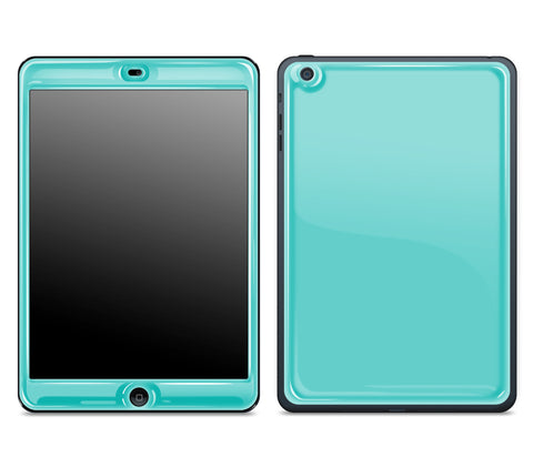 Teal <br>iPad Mini - Glow Gel Skin