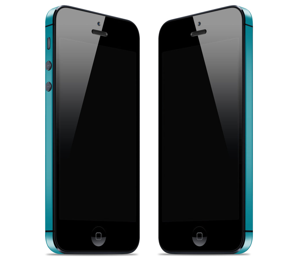 Matte Teal <br>Rim Skin - iPhone 5/5s