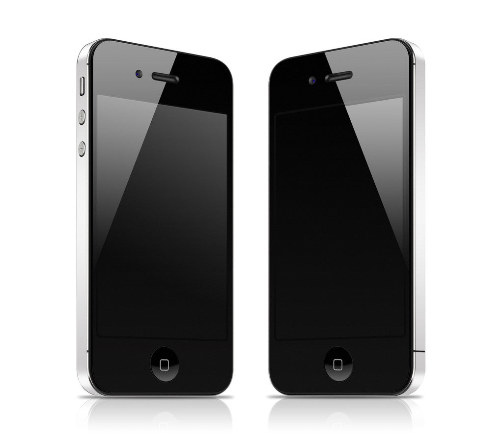 White <br>Rim Skin - iPhone 4 / 4s