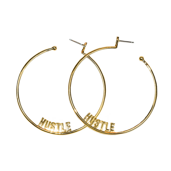 Large Affirmation Hoops