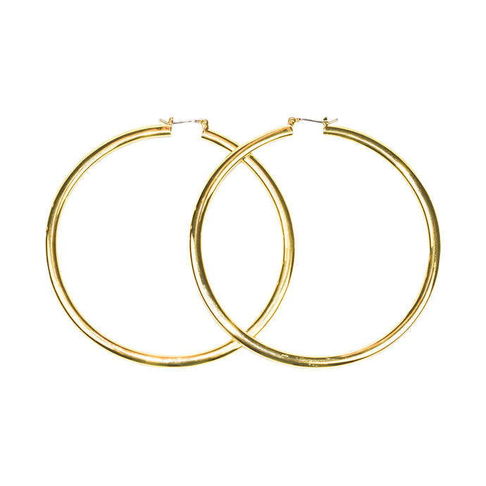 LM Signature Hoop Earrings