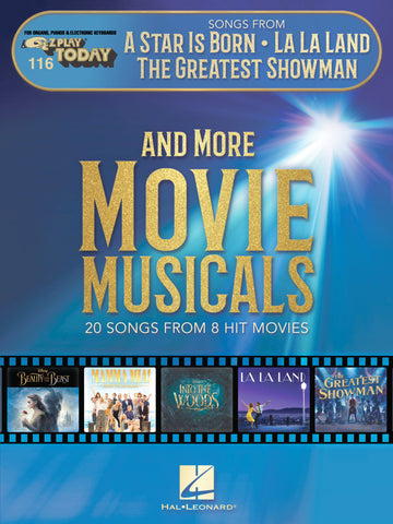Songs from A Star Is Born, La La Land, The Greatest Showman, and More Movie Musicals E-Z Play Today Volume 116