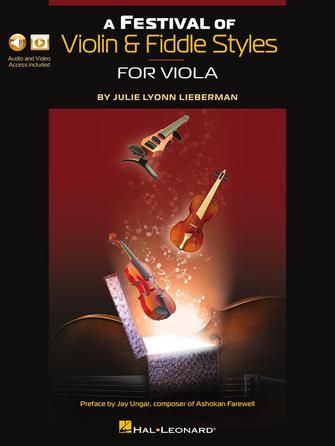 A Festival of Violin & Fiddle Styles for Viola Book with Audio and Video Access