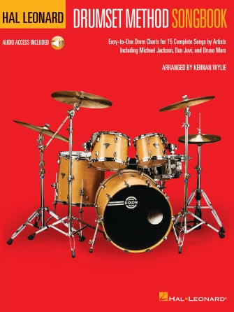 Hal Leonard Drumset Method Songbook-Drum Charts Arranger: Kennan Wylie