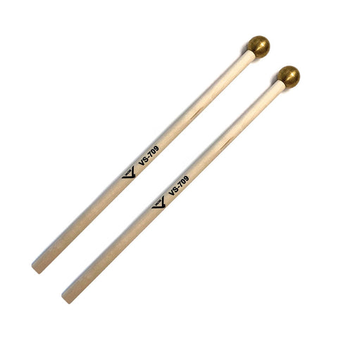 Student Bell/Crotale Mallets Set of Birch Mallets with Brass Heads