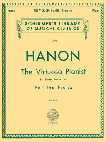Hanon - Virtuoso Pianist in 60 Exercises - Complete cover image