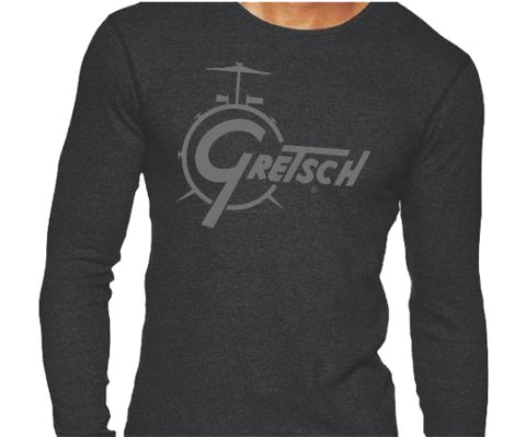 Gretsch Drum Thermal Long-Sleeved Shirt - Men's Medium - Gretschgear