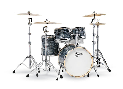 Gretsch Renown 4 Piece Drum Set (20/10/12/14) Silver Oyster Pearl