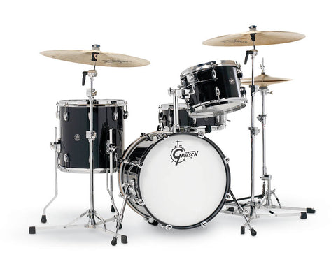 Gretsch Renown 4 Piece Drum Set (18/12/14/14sn) Piano Black