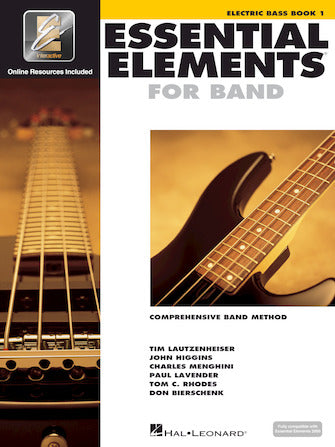 Essential Elements for Band – Electric Bass Book 1 with EEi