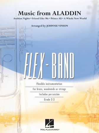 Music from Aladdin - FlexBand - Score & Parts