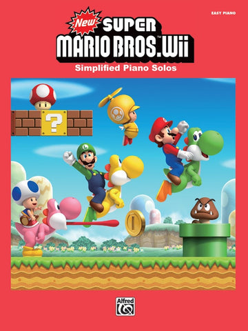 New Super Mario Bros Wii Simplified Piano Solos