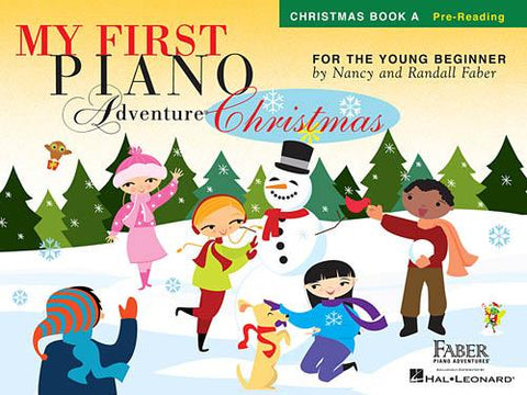 My First Piano Adventure® Christmas – Book A - Pre-Reading - Faber Piano Adventures® - Softcover