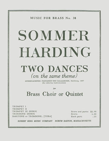 2 Dances (quintet-brass)