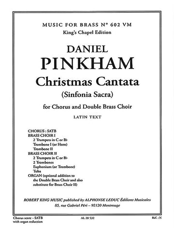 Christmas Cantata (Sinfonia Sacra) for Chorus and Double Brass Choir  Music for Brass No. 602