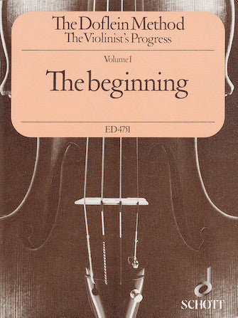 The Doflein Method Volume 1: The Beginning