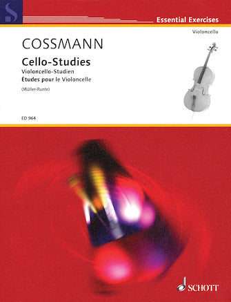 Cello-Studies Composer: Bernhard Cossmann