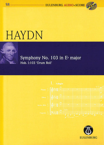 Symphony No. 103 in E-flat Major Hob. I:103 Drum Roll
