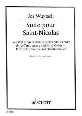 Suite For Saint Nicolas Score Orff Instruments And String Orchestra