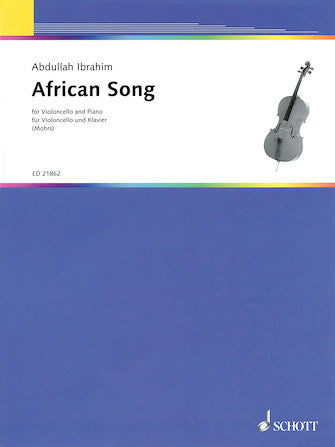 African Song Cello and Piano
