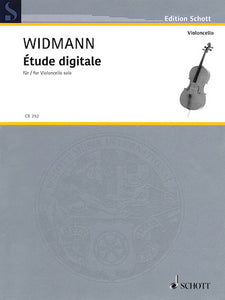 Etude Digitale for cello by Joerg Widmann