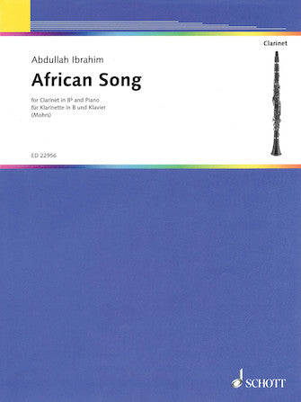 African Song Clarinet and Piano