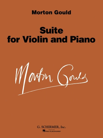Suite For Violin And Piano by Morton Gould