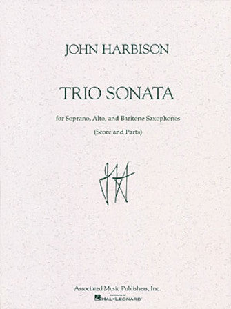 Trio Sonata Score and Parts - saxophone trio