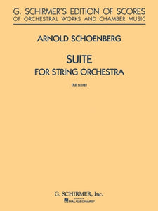 Suite in G for String Orchestra by Arnold Schoenberg