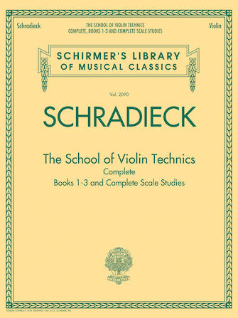 The School of Violin Technics Complete