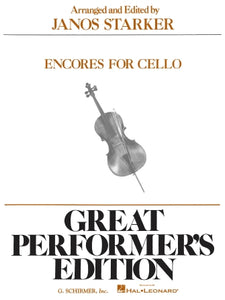 Encores for Cello edited by Janos Starker