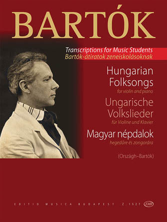 Hungarian Folksongs Violin and Piano Bartok