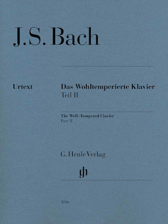 Well-Tempered Clavier BWV 870-893 Part II cover image