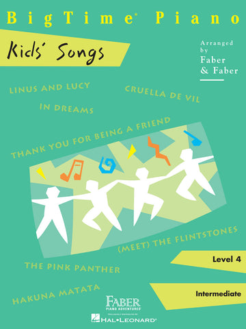 BigTime® Piano Kids' Songs Level 4
