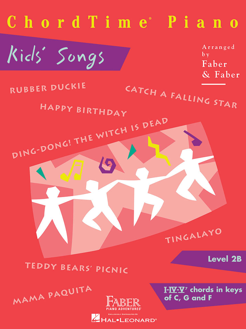 ChordTime Piano Kids' Songs Level 2B
