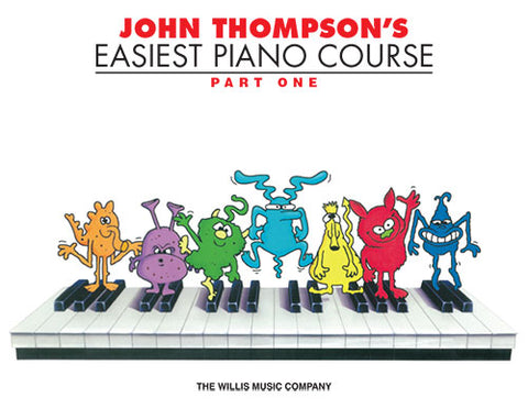 John Thompson's Easiest Piano Course Part One - excerpt image; FRONT COVER