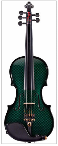 Glasser Carbon Composite Acoustic Electric 5-string violin