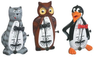 Wittner Metronome - Taktell Animal Shapes - Cat, Owl or Penguin