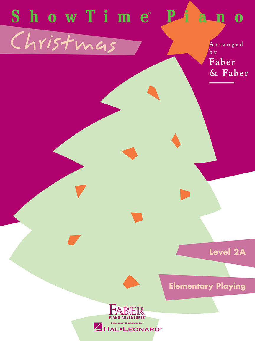 ShowTime® Piano Christmas Level 2A