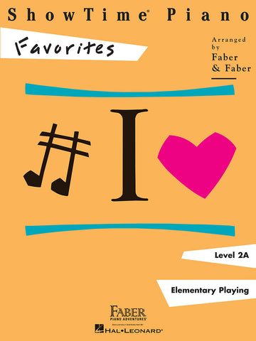 ShowTime® Piano Favorites Level 2A