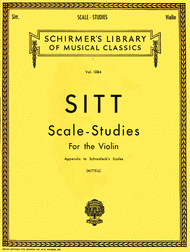 Scale Studies for Violin, Appendix to Schradieck Scales by Hans Sitt
