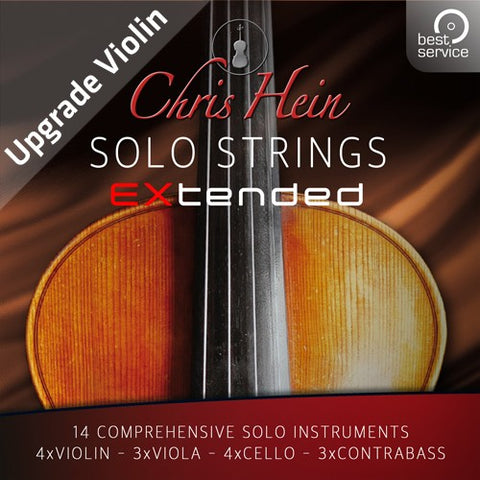 Chris Hein Solo Strings Complete Upgrade Violin