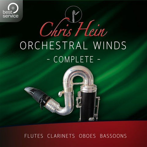 Chris Hein Winds Complete - Sampled Woodwinds