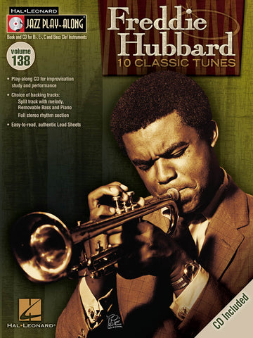 Freddie Hubbard Jazz Play-Along Volume 138