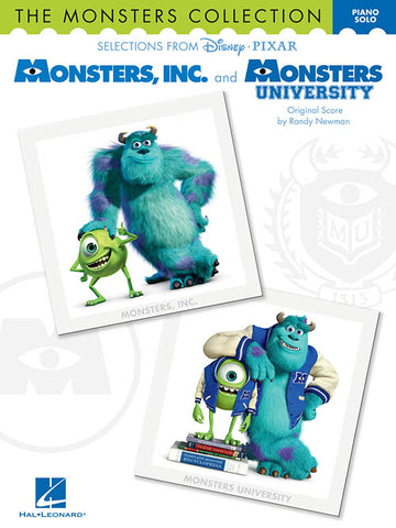 The Monsters Collection Selections from Disney Pixar's Monsters, Inc. and Monsters University