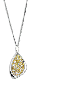 Bella Italiana CZ Lace Necklace