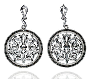 Venice Medallion Earrings