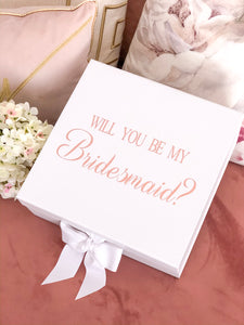 'Be My Bridesmaid?' Gift Box