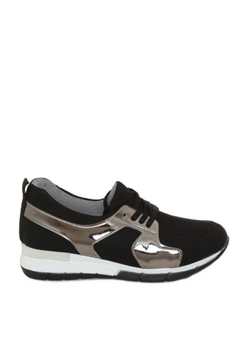 Women's Black Sports Shoes